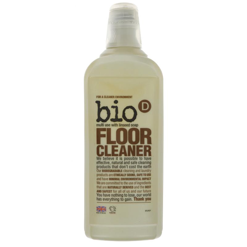 Bio D Floor Cleaner + Linseed Soap