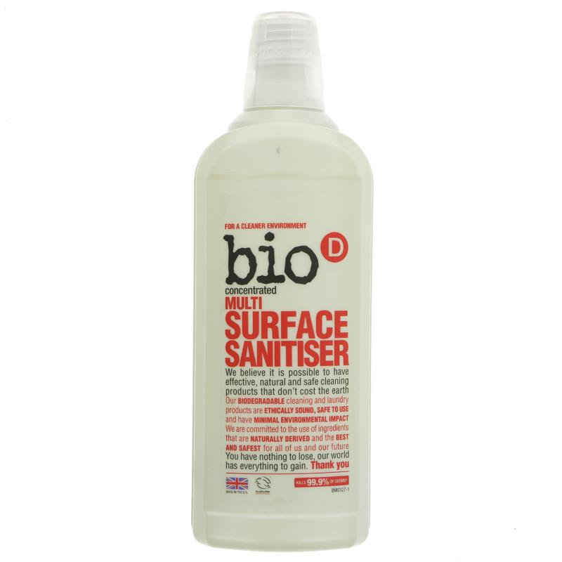 Bio D Multi Surface Sanitiser