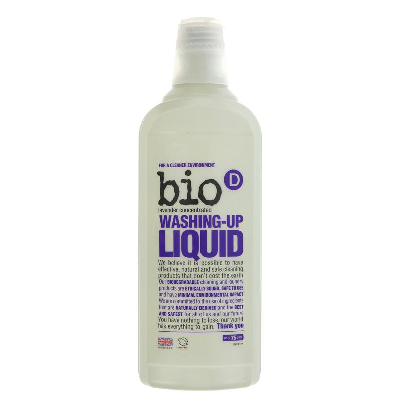 Bio D Washing Up Liquid - Lavender