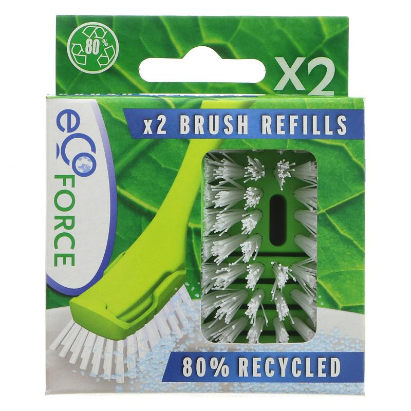Ecoforce Recycled Dish Brush Refil