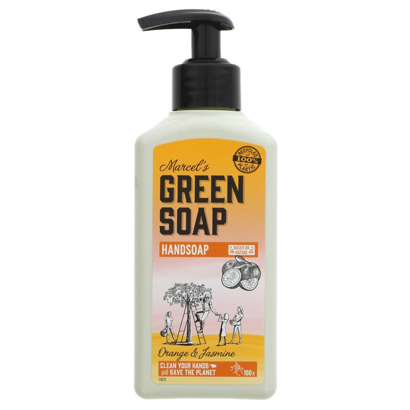 Green Soap Company Hand Soap - Orange & Jasmine 250ml