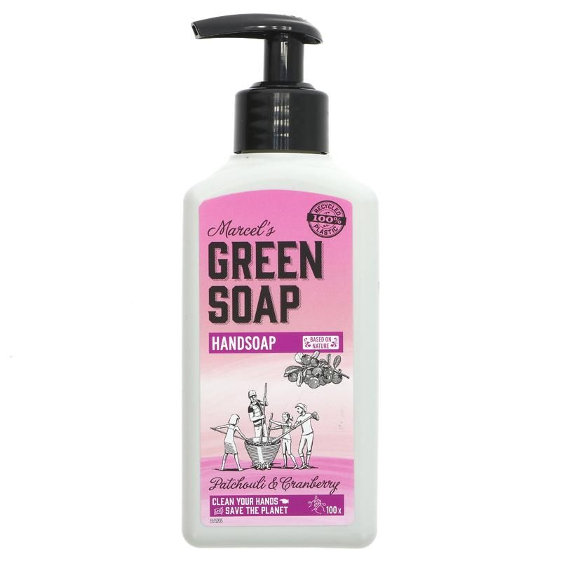 Green Soap Company Hand Soap Patchouli & Cranberry 250ml