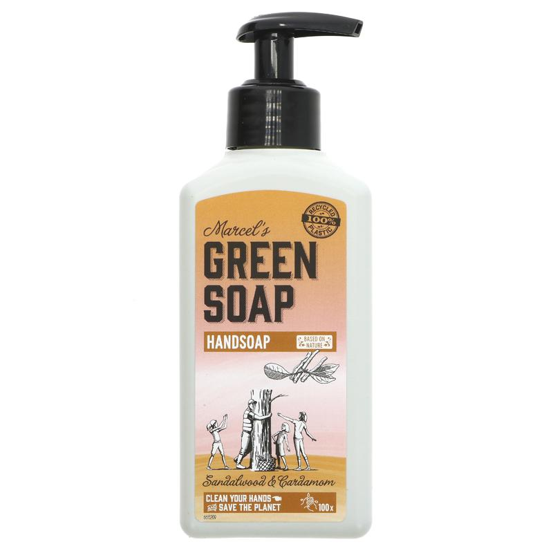 Green Soap Company Hand Soap Sandalwood & Cardamom 250ml