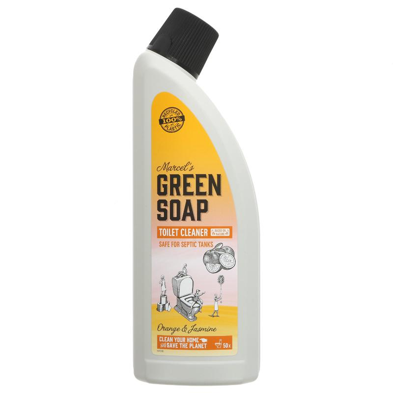 Green Soap Company Toilet cleaner Orange & Jasmine 750ml