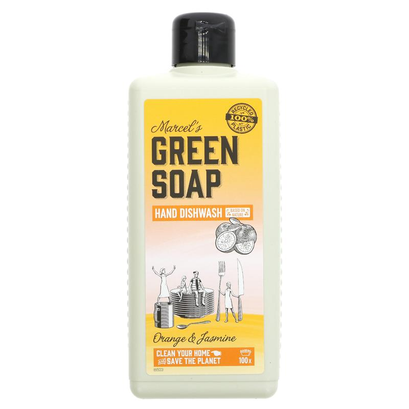 Green Soap Company Washing Up Liquid Orange & Jasmine  500ml