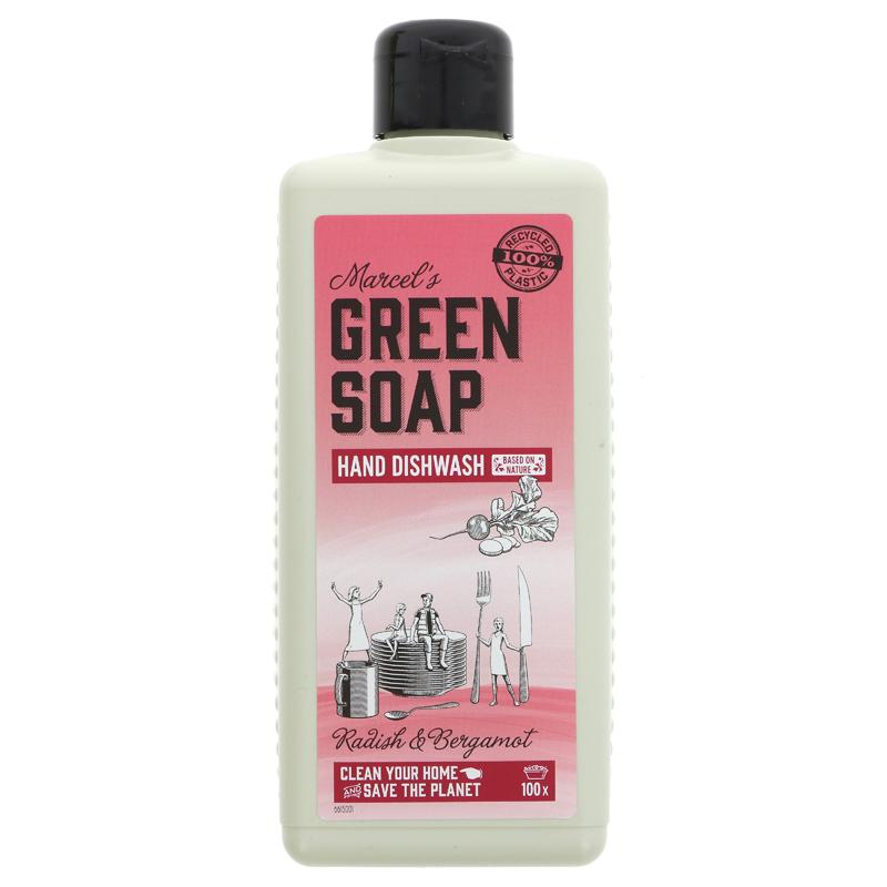 Green Soap Company Washing Up Liquid Radish & Bergamot  500ml