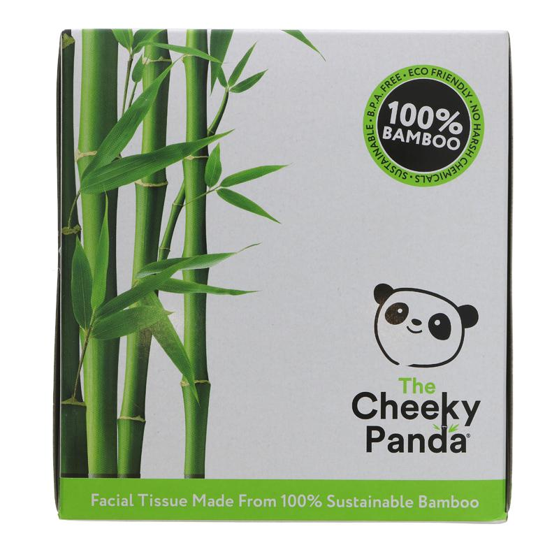 The Cheeky Panda Bamboo Facial Tissue Cube Box