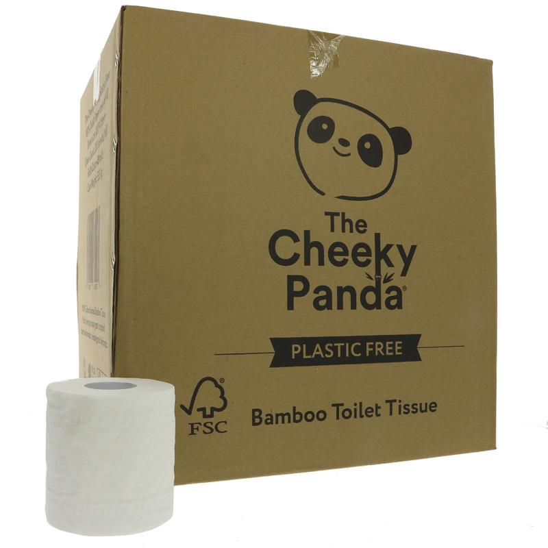 The Cheeky Panda Bamboo Toilet Tissue 48 Rolls